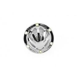 010HRGSCHR6VAC - CLAXON VESPA  6V CA VENTAGLIO CROMATO VBA GS 160 180 SS