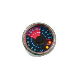 KO-BA481B15 - CONTAGIRI ANALOGICO KOSO GP STYLE, 0 - 15.000 RPM ROTONDO,  48 X 57MM