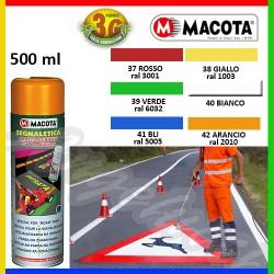 MACOTA 03738 - SEGNALETICA (EX 03810) GIALLO SEGNALE 500ML.