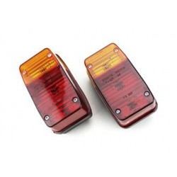 034P427CP - FANALE  APE POSTERIORE 400 401 501 601 500 600 APE CAR COPPIA SX/DX