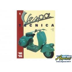 LIBRO VESPA TECNICA VOLUME 1 ITALIANO