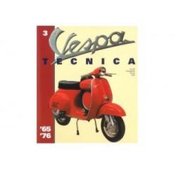 937TECNICA3EN - LIBRO VESPA TECNICA INGLESE Nr 3 VT3ING
