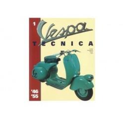 937TECNICA1IT - LIBRO VESPA TECNICA ITALIANO Nr 1 VT1ITA
