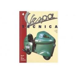 937TECNICA4DE - LIBRO VESPA TECNICA TEDESCO Nr 4 VT4TED