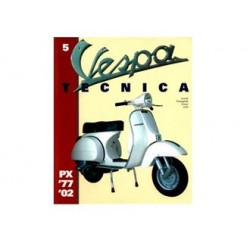 937TECNICA5DE - LIBRO VESPA TECNICA TEDESCO Nr 5 VT5TED