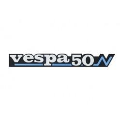 "0476111 - TARGHETTA VESPA LATERALE PK ""vespa50N"""