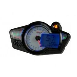 KO-BA011220 - TACHIMETRO KOSO RX1N GP STYLE, 15.000 RPM, RETROILLUMINAZIONE BIANCO/BLU, OMOLOGATO CE