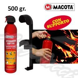 MACOTA 06619 SF ESTINTORE 500 GR CON SUPPORTO