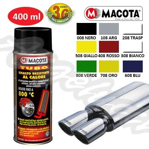 MACOTA 08008 MACOTA TUBO NERO ALTA TEMPERATURA