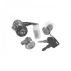 SGR 097487 - KIT SERRATURE(3 PZ) HONDA DIO/SC01/SR